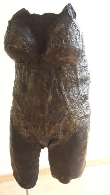 bronzen buste
